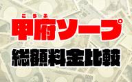 甲府ソープの総額 | 1番安い激安店から高級店まで料金を徹底比較【2020年8月最新】