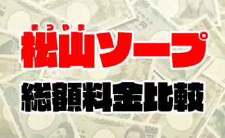 松山ソープの総額   1番安い激安店から高級店まで料金を徹底比較【2020年8月最新】