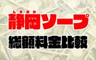 静岡ソープの総額 | 1番安い激安店から高級店まで料金を徹底比較【2020年8月最新】