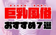 巨乳風俗おすすめ7選【爆乳/パイズリ好き必見のソープやデリヘル】