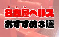名古屋ヘルスおすすめ人気ランキング3選【箱ヘル/ファッションヘルス】