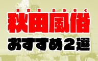 秋田風俗おすすめ人気ランキング2選【風俗店51店舗から厳選】