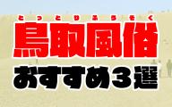 鳥取風俗おすすめ人気ランキング3選【風俗街やデリヘル情報も解説】